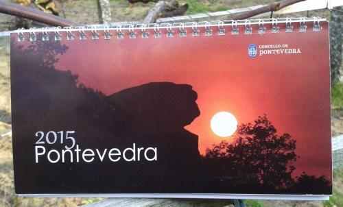 Calendario 2015 do Concello de Pontevedra.