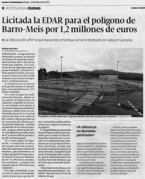 Diario, 14 febreiro 2015