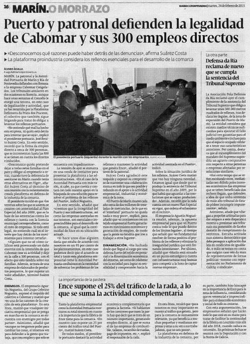 Diario, 24 febreiro 2015.