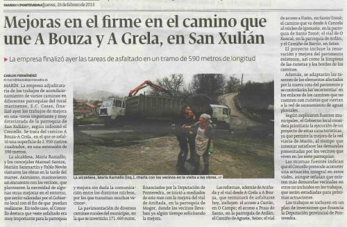 Diario, 26 febreiro 2015.