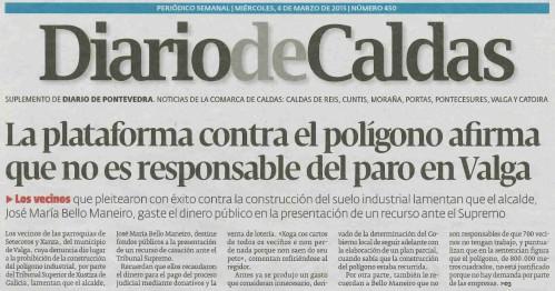 Diario, 4 de marzo 2015.