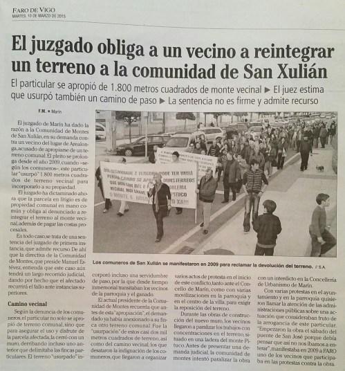Faro, 15 de marzo 2015.