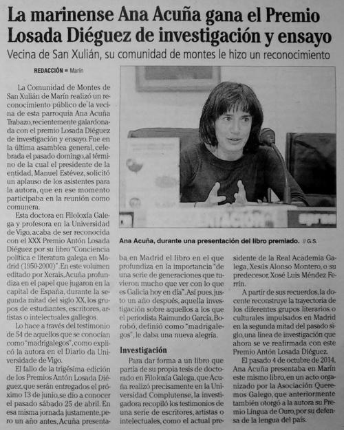 Faro, 28 abril 2015.