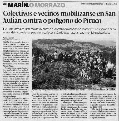 Diario, 14 abril 2015