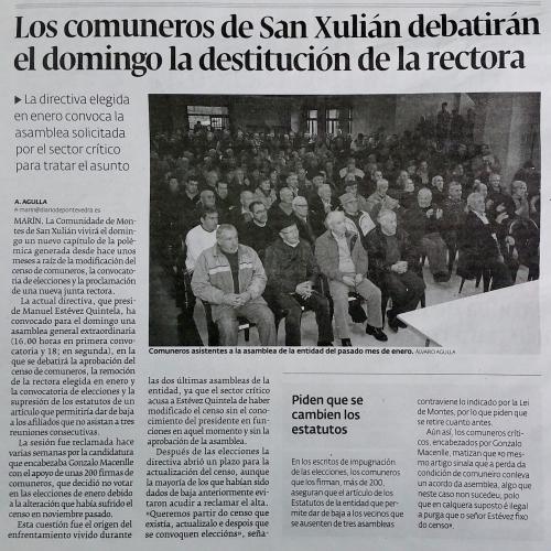 Diario, 21 de abril 2015.