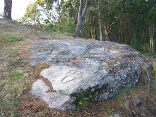 Desbroce dos petroglifos do Pornedo previa inauguración do Espazo Sete Camiños