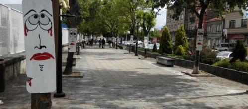 Árbores da Avenida de Ourense. Foto do Psoe.