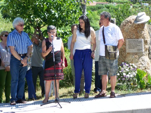 Homenaxe a Xan Montenegro.