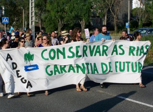 Marcha pola Defensa da Ría 2015.