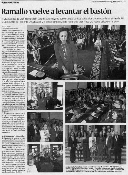 Diario,  14 xuño 2015