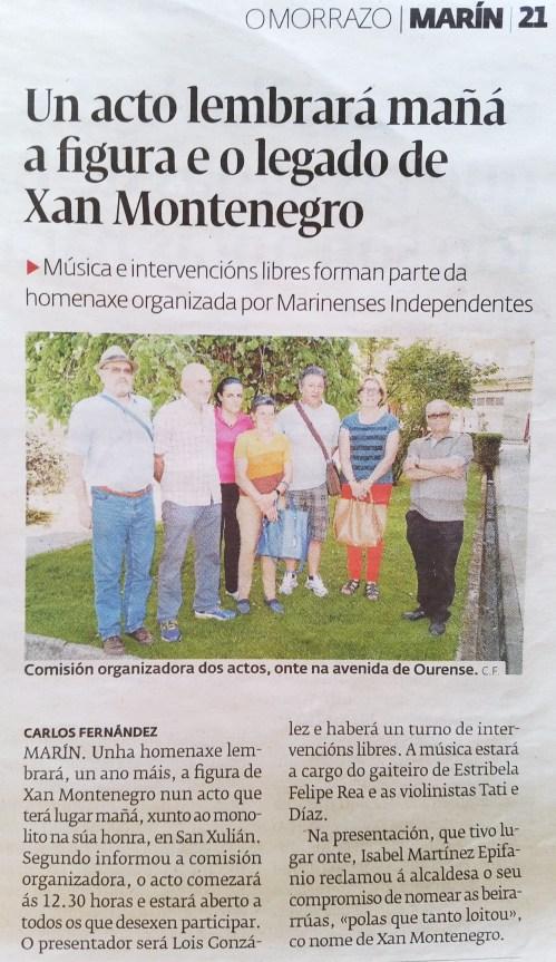 Diario, 19 xuño 2015