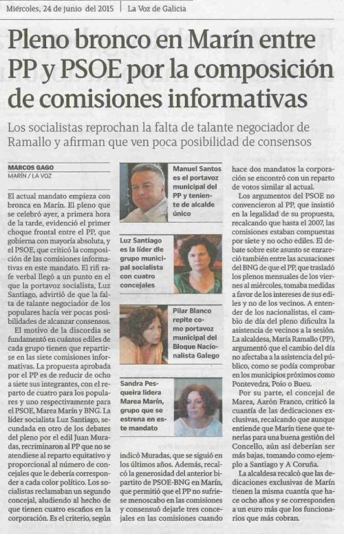 La Voz, 24 xuño 2015