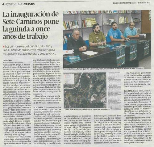 Diario, 4 xuño 2015