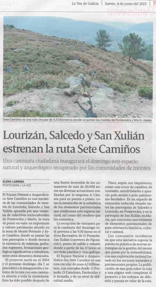 La Voz, 4 xuño 2015