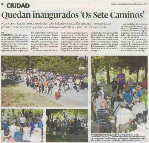 Diario, 8 xuño 2015