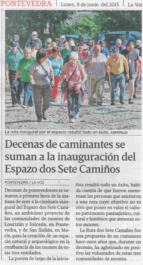La Voz, 8 xuño 2015