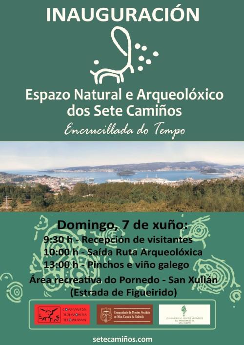 Inauguración do Espazo Natural e Arqueolóxico dos Sete Camiños.