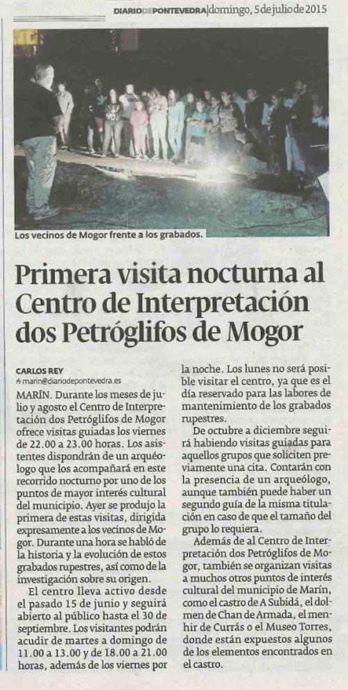 Diario, 5 xullo 2015