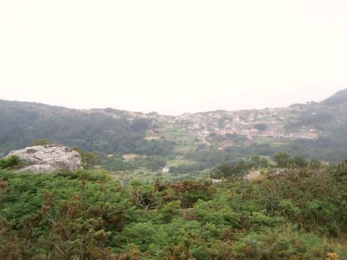 Vista dende Outeiro Batente.