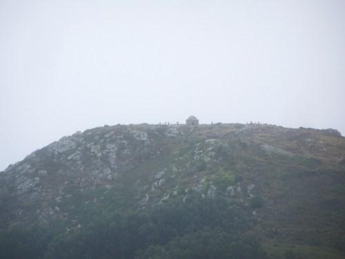 Vista do Monte do Facho dende Outeiro Batente.