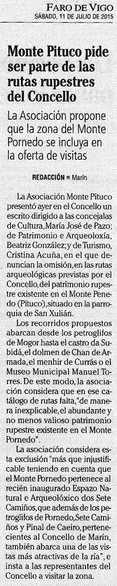Faro, 11 xullo 2015