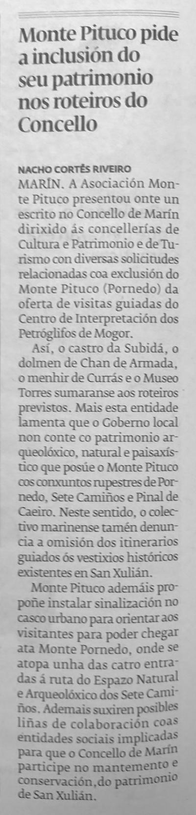Diario, 23 xullo 2015