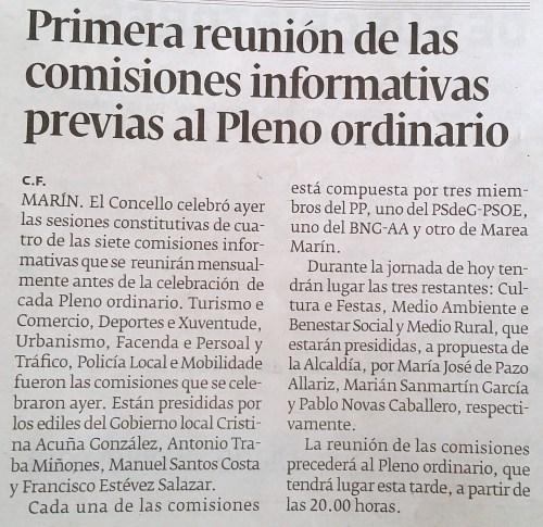 Diario, 8 xullo 2015