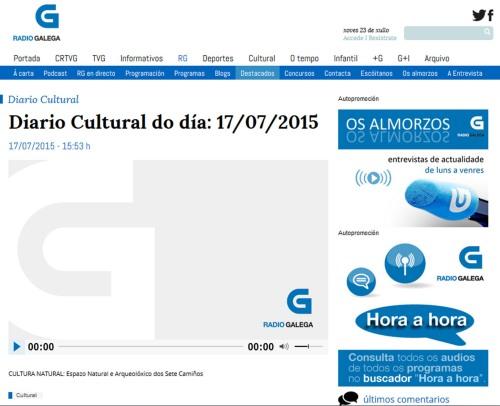 Diario Cultural: Espazo Sete Camiños
