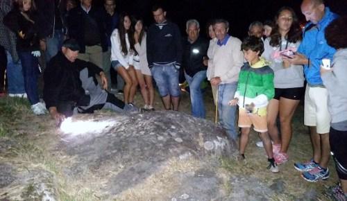 Visita guiada aos petroglifos de Tourón con X.L. Vilar