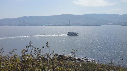 Vista de Marín dende Tambo