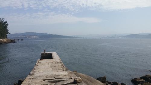 Muelle do faro de Tambo