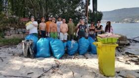 Momentos na historia recente da APDR: limpeza de residuos en Tambo