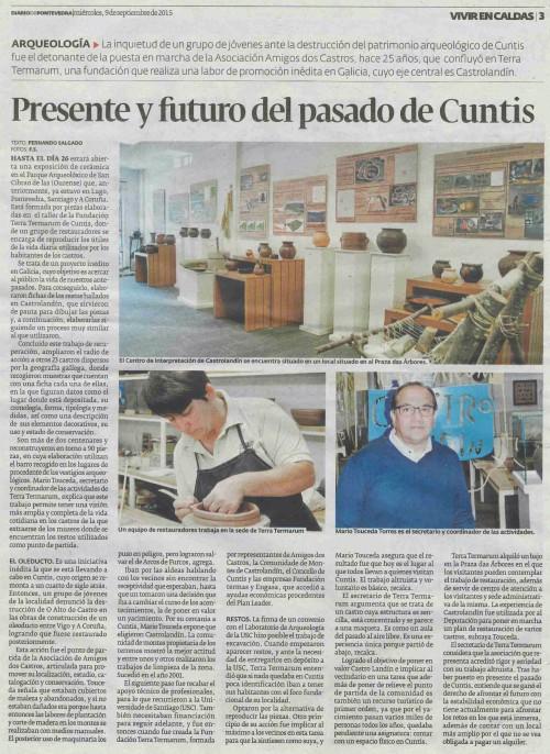 Diario, 9 setembro 2015