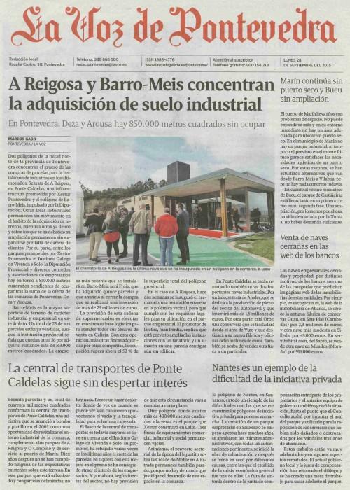 La Voz, 27 setembro 2015