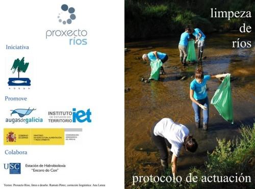 Limpeza dos ríos, por Adega.