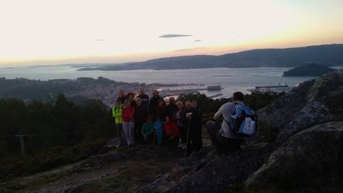 Foto de grupo da ruta con Ronsel e Acemas.