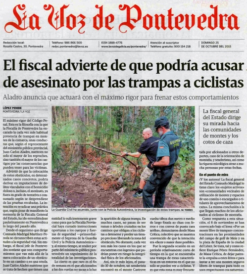 La Voz, 25 outubro 2015