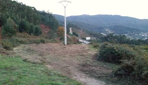 Obras de ACUAES no Monte Pituco.