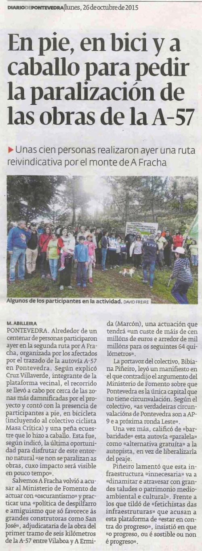 Diario, 26 outubro 2015