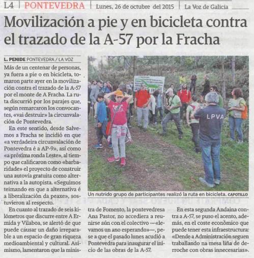 La Voz, 26 outubro 2015