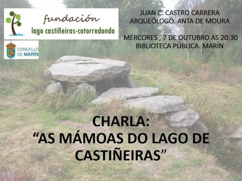 """Charla """"As mámoas do Lago de Castiñeiras"""""""