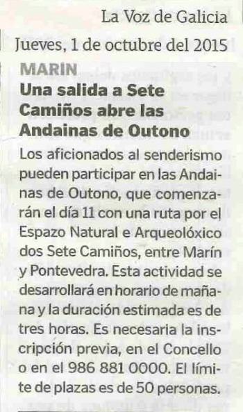 La Voz, 1 outubro 2015