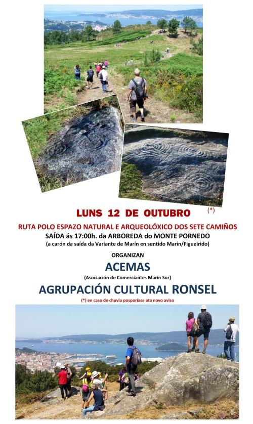 Ruta por Sete Camiños con Ronsel e Acemas: 12 de outubro.