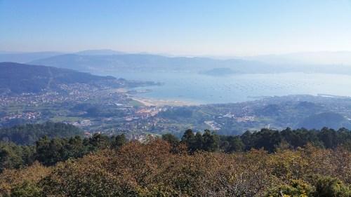 Vista dende o Monte da Paralaia