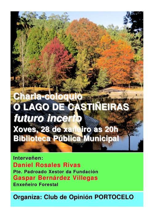 Charla sobre a situación do Lago de Castiñeiras