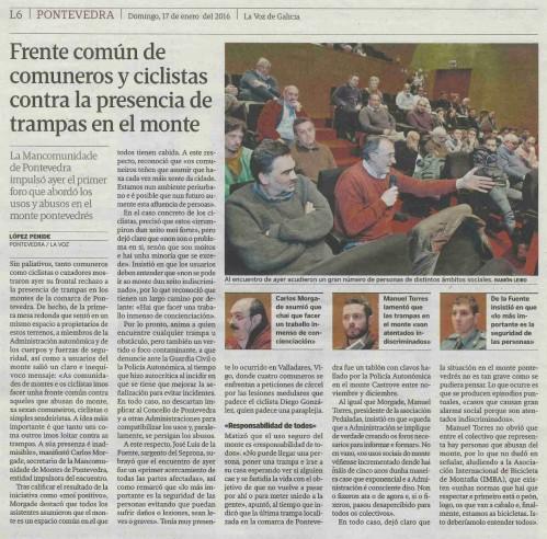 La Voz, 17 xaneiro 2016