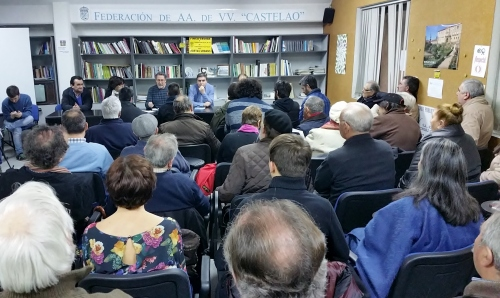Asemblea na Federación Castelao en Pontevedra