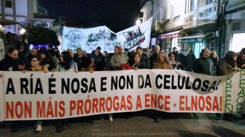 Manifestación Ence Fóra da Ría: 29 xaneiro 2016.