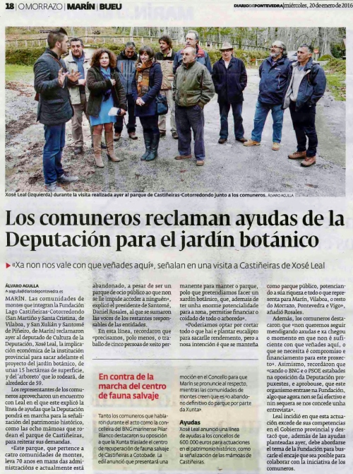 Diario, 20 xaneiro 2016