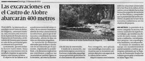 Diario, 31 xaneiro 2016